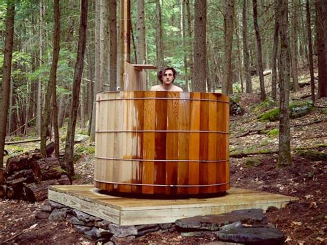 outdoor bathtub wood fired 36 best images about wood fired hot tub on pinterest