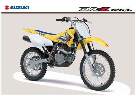 2007 Suzuki Drz 125 Specs 2007 Suzuki Dr Z 125 Pics Specs And Information