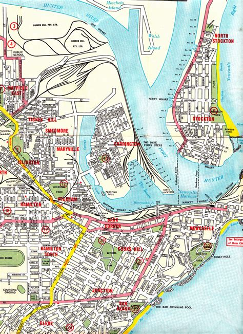 map of suburbs newcastle nsw and it s suburbs map dave murchie flickr