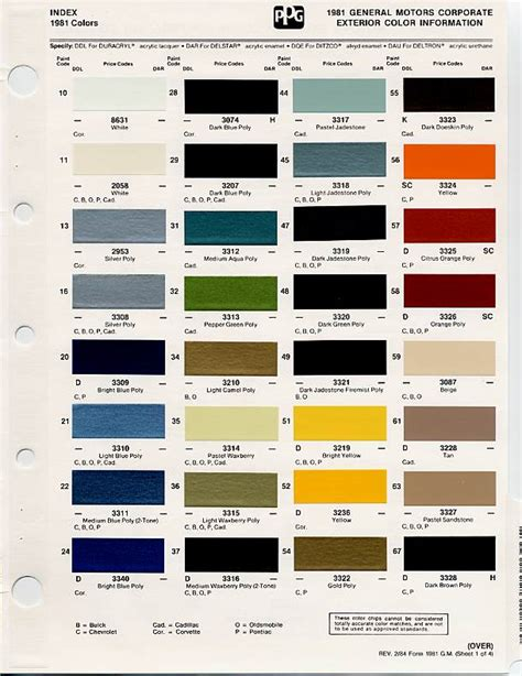 gm auto color chips color chips paint codes gm auto paint colors codes