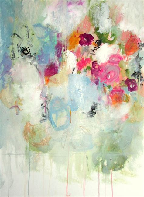 abstract flower painting best 25 abstract flowers ideas on