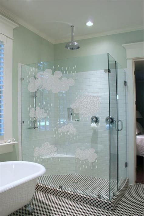 bathroom shower glass frosted glass bathroom door door styles