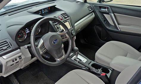 Subaru Forester Leather Interior by 2014 Subaru Forester Pros And Cons At Truedelta 2014 Subaru Forester 2 5i Review By Michael Karesh