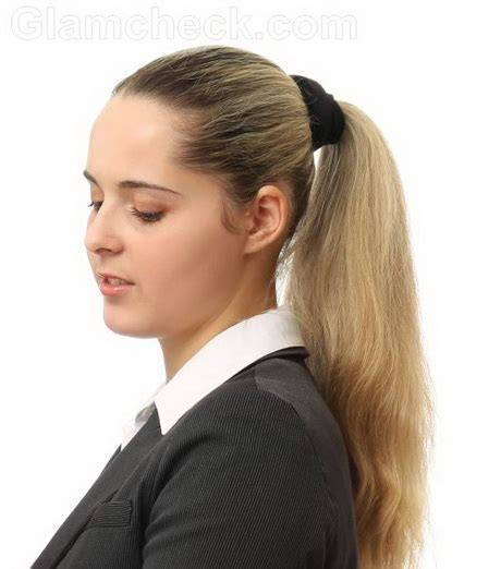 hair styles for a type 2 short hair ponytail styles