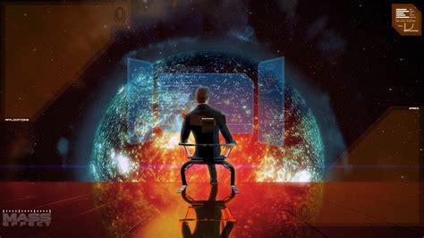 Mass Effect Desktop Wallpaper Mass Effect Illusive Man Desktop Wallpaper By Thepasch85 On Deviantart