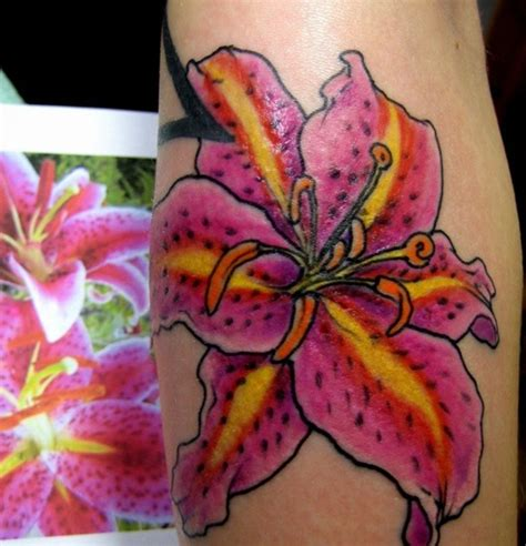 tiger lily tattoo designs 25 amazing tiger designs