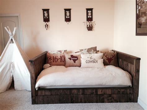 day bed headboards ana white