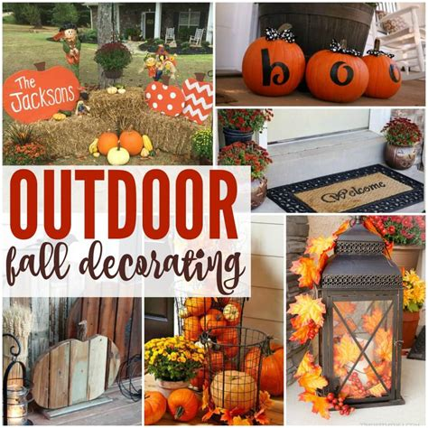 outdoor fall decorating ideas for your home