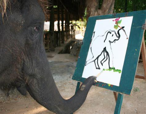 painting elephant painted asian elephants images