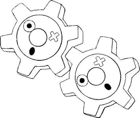 klink pokemon coloring pages dibujos para colorear pokemon klink dibujos pokemon