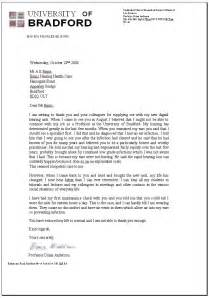 cover letter for college professor position sle letter of recommendation for college professor