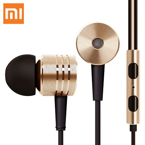 Headset Earphone R 399 Xiaomi Piston 2 original xiaomi piston ii earphone headphone headset with remote mic for iphone ipod android