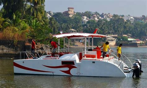 catamaran party cruises goa boat cruise sunset cruise private boat hire and rental