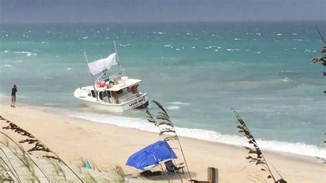 boat rs near sebastian inlet fishing boat beaching incident near sebastian beach inn