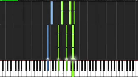 tutorial piano you and i all of me john legend piano tutorial synthesia youtube