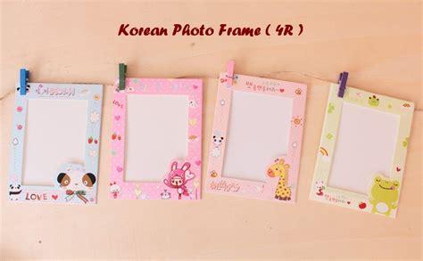 Bingkai Foto Gantung Isi 9 jual korean photo frame 4r bingkai foto gantung