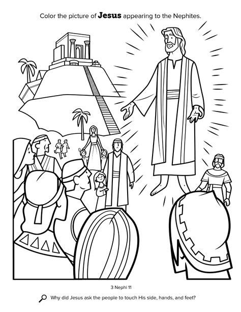 Book Of Mormon Coloring