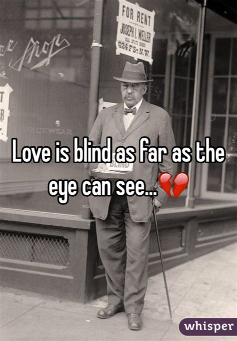 As Far As The Eye Can See by Is Blind As Far As The Eye Can See Whisper