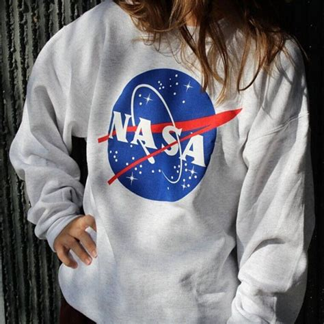 Hoodie Sweater Nasa Premium oversized casual sweatshirt printed nasa hoodie pullover baseball blouse ebay