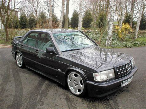 Mercedes 190e Leather Interior Alloy Wheels Rear Wheel