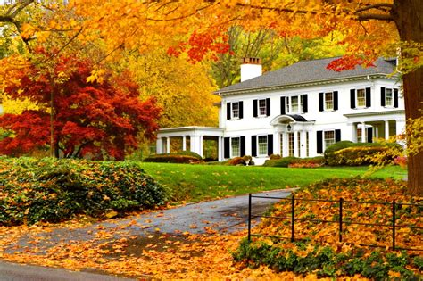 A House For The Season Staging A Home In The Fall Kevin Tina Girard Royal