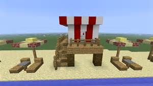 Beach Tiki Hut Minecraft Beach Life Guard Tower Youtube