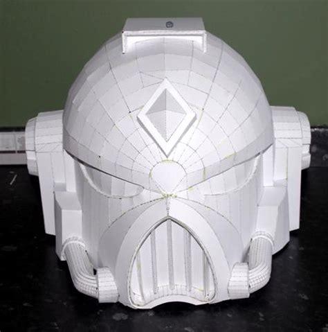 Papercraft Helmet - 40k papercraft space marine helmet space marine