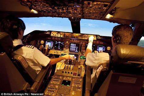 comfort pilot british airways captain dave thomas addresses the most