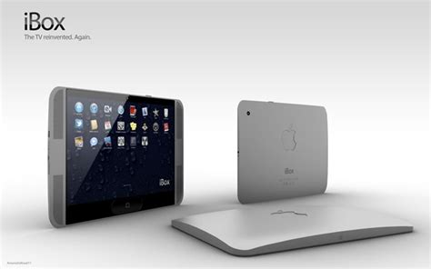 Apple Tv Di Ibox meet the apple ibox an artist s rendition of what the itv should be images redmond pie