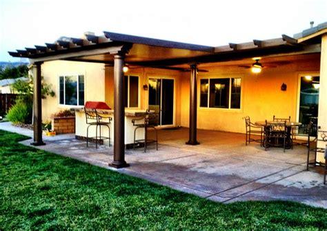 California Backyard Patio by Southern California Patios Solid Patio Covers