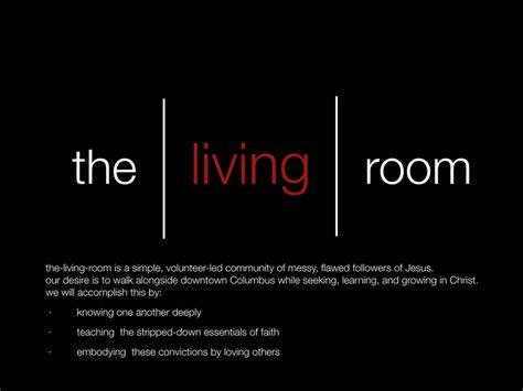 the living room logo the living room church