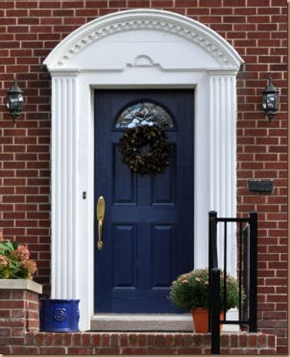 navy front door the front door what s the best color for your home