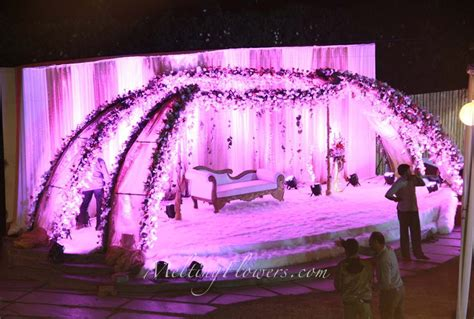 Wedding Reception Background Decorations by Wedding Backdrops Backdrop Decorations Melting Flowers