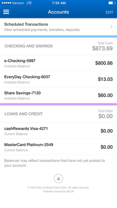 navy fed mobile navy federal credit union on the app store
