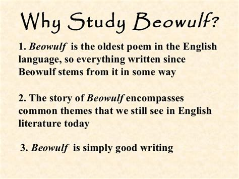 themes in beowulf that relate to today english intro to beowulf