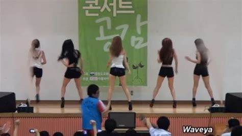 kpop theme hunter kpop dance team performs at all boys school to