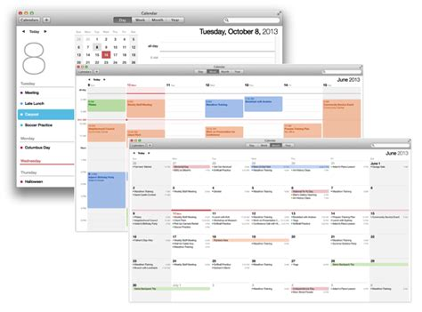 When Calendar Changed Mac Basics Calendar Keeps Your Appointments Apple Support