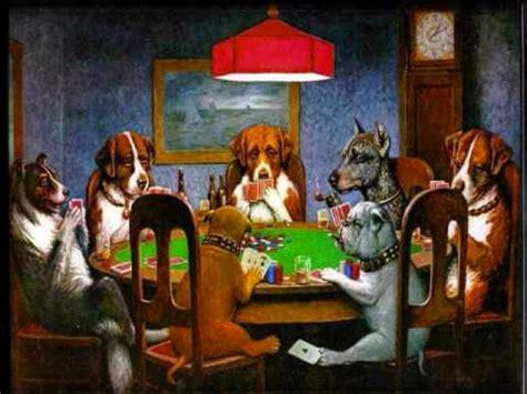imagenes de animales jugando poker perros jugando poker youtube