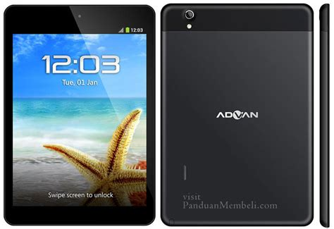 Usb Otg Advan harga tablet advan vandroid semua tipe spesifikasi