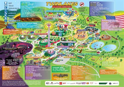 map uk unit 12 lakes farm park guide map twinlakes