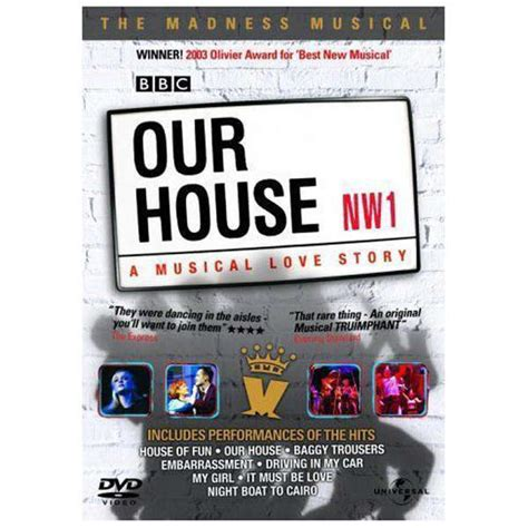 our house madness our house the madness musical our house madness musical dvd zavvi nl