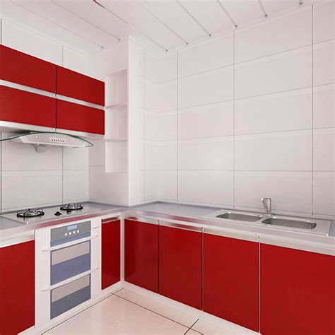 Self Adhesive Vinyl Kitchen Cupboards 5m vinyl self adhesive wallpaper roll pvc waterproof wall papers home decor modern for living