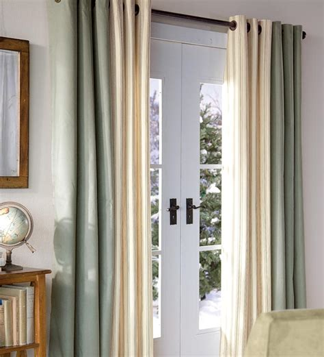 curtains sliding doors patio door curtains