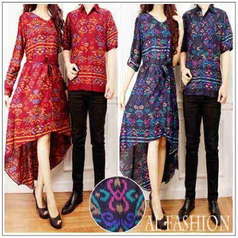 Baju Gamis Batik Papa baju batik papua cp911 gamis pasangan modern