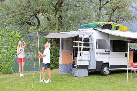 rear awning for cervan fiamma rear door cover enclosure ducato boxer cervan