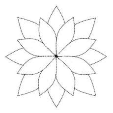 water lily outline clipart best