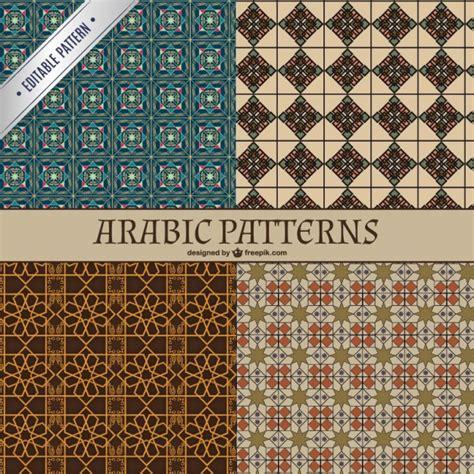 arab pattern vector free download arabic patterns vector free download
