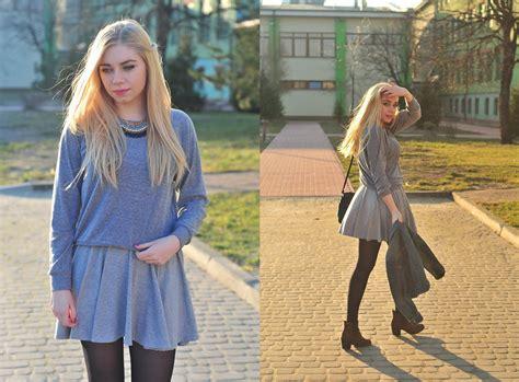 Milena Skirt Grey milena olimpia dziewulska american apparel sweater