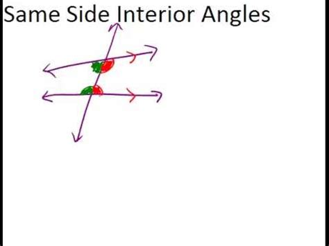 Definition Of Interior Of An Angle by Alternate Interior Angles Definition