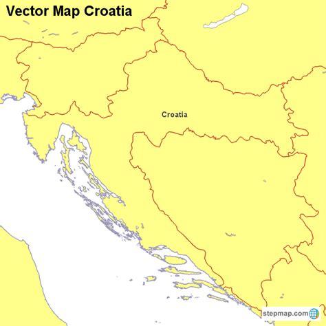 croatia map vector croatia map vector 28 images map of croatia with